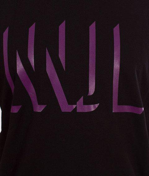 NNJL-3D Logo T-shirt Czarny/Fiolet