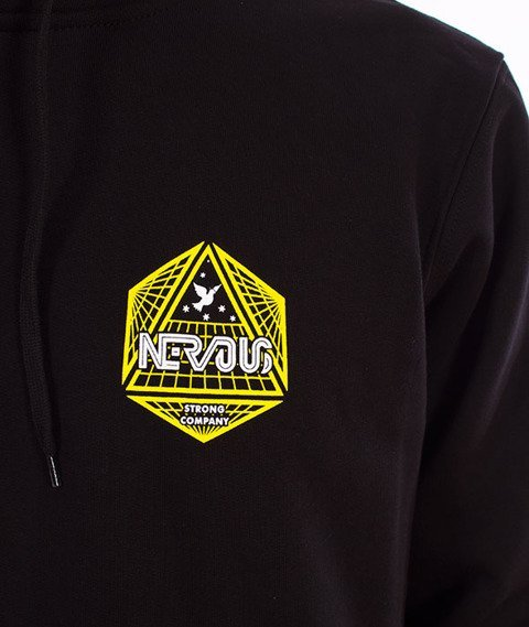 Nervous-Arcade FA18 Hood Bluza Kaptur Black