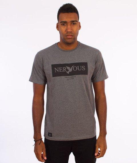 Nervous-Brand Box F17 T-shirt Szary