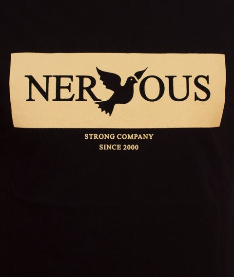 Nervous-Brandbox Sp18 T-shirt Black