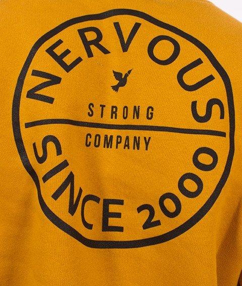 Nervous-Crewneck F17 Pill Bluza Mustard