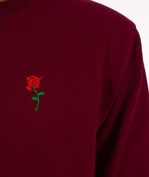 Nervous-Crewneck F17 Rose Icon Bluza Maroon