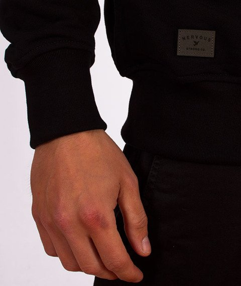 Nervous-Crewneck Sp18 Classic Bluza Black