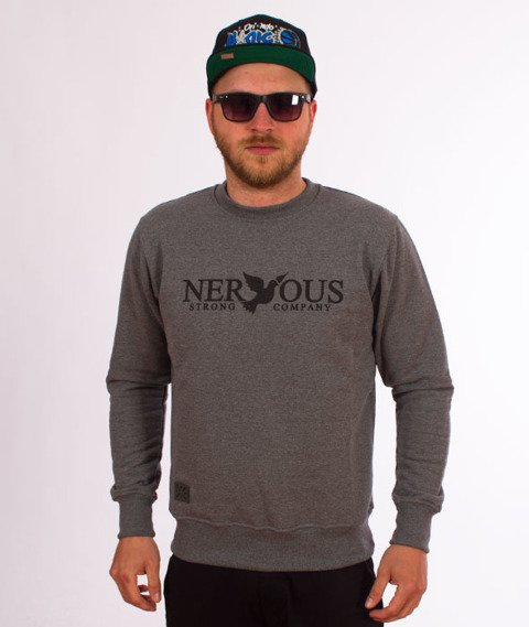 Nervous-Crewneck Sp18 Classic Bluza Grey