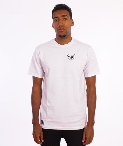 Nervous-Flare T-Shirt Biały