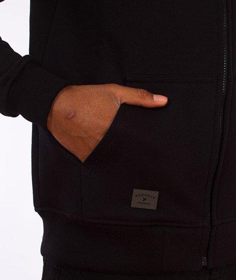 Nervous-Ghothic Bluza Kaptur Zip Czarna