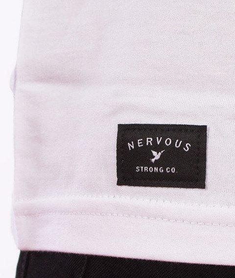 Nervous-Holo T-Shirt Biały