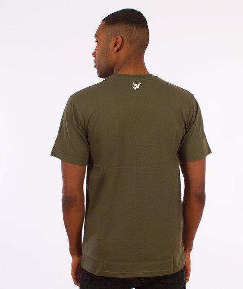 Nervous-Holo T-Shirt Khaki