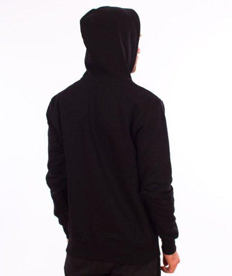 Nervous-Icon Bluza Kaptur Zip Black