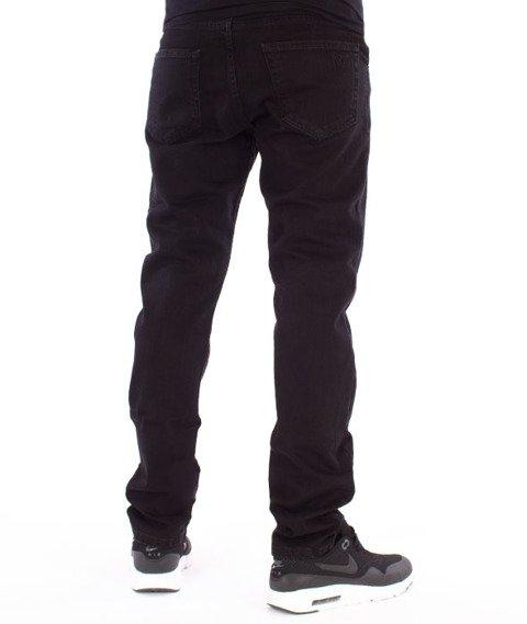 Nervous-Incomplete Spodnie Jeansowe Black