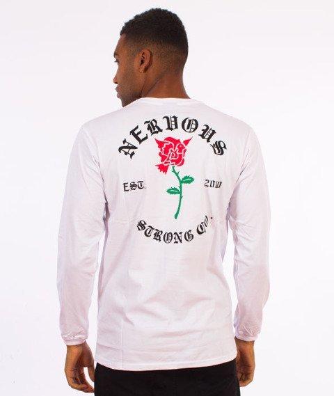 Nervous-Longsleeve F17 Rose Biały