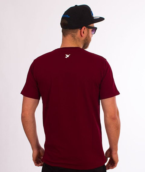 Nervous-Rose Sp18 T-shirt Maroon