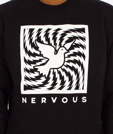 Nervous-Swirl Bluza Czarna