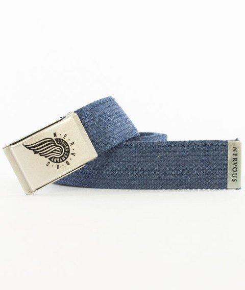 Nervous-Wing Pasek Grey/Silver