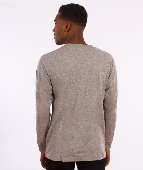 New Black-Kokusai Longsleeve Grey