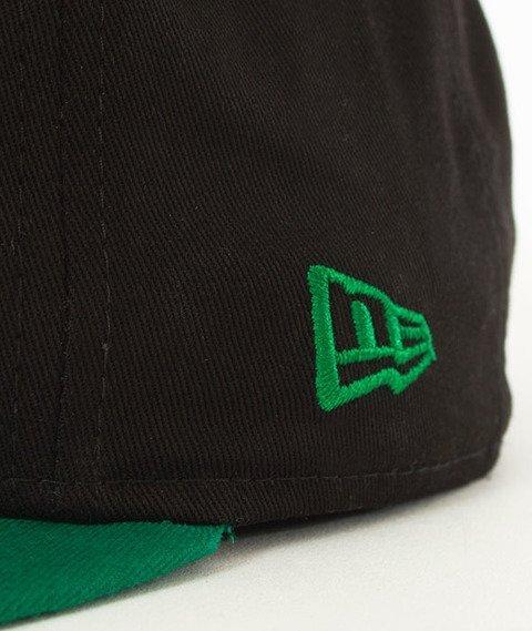 New Era-Boston Celtics NBA Black Base 9Fifty Snapback Czapka Black/Green