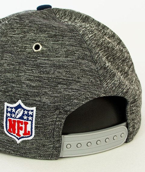 New Era-NFL Draft Dallas Stars Snapback Grafitowy/Granatowy