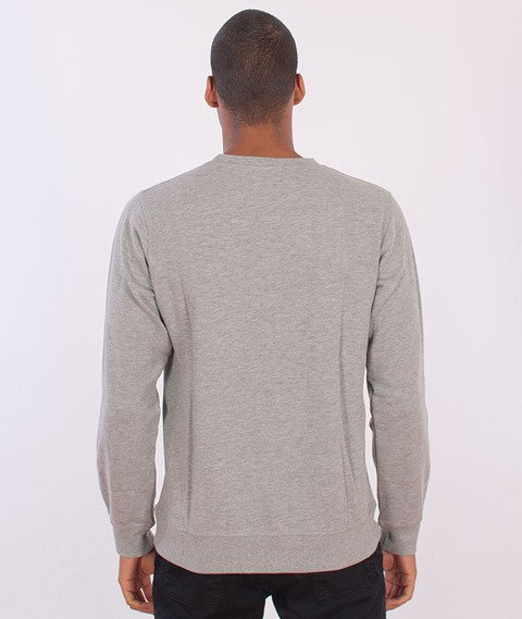 Parra-Detached University Crewneck Heather Grey