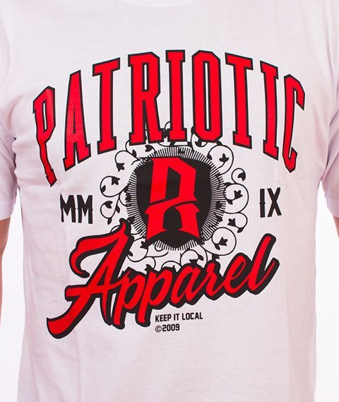 Patriotic-Areola T-shirt Biały