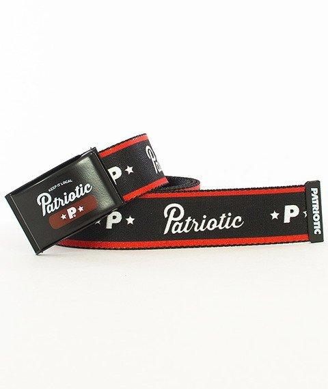 Patriotic-Base Pasek Czarny/Czerwony