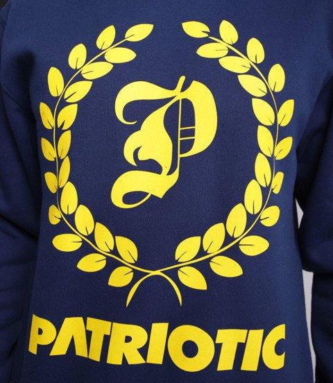 Patriotic Big Laur Bluza bez kaptura Granatowy