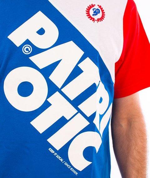 Patriotic-CLS Laur Double T-shirt Chaber/Biały/Czerwony