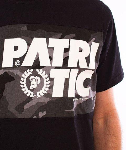 Patriotic-CLS Laur T-shirt Czarny/Black Camo