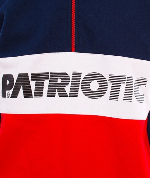 Patriotic-F Shade Soulder KS Czerwony/Granat/Biały