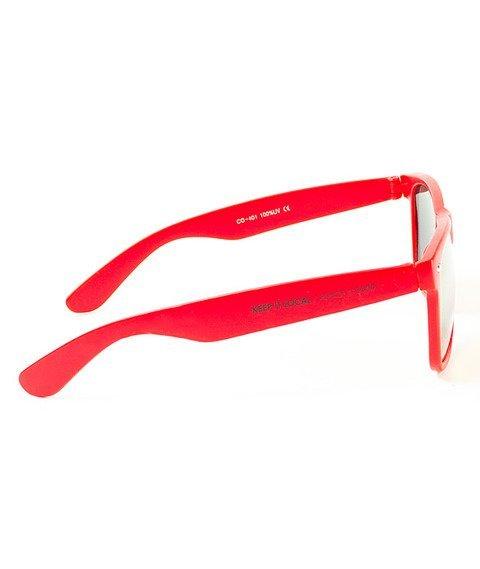 Patriotic-Futura Mat Classic Okulary Czerwone