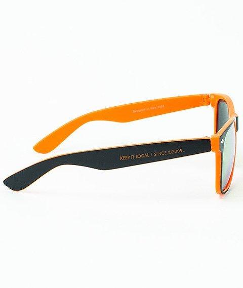 Patriotic-Futura Mat Okulary Czarne/Pomarańczowe/Pomarańczowe