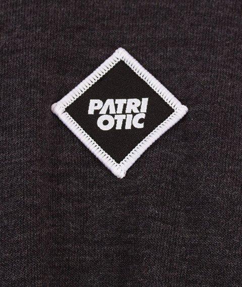 Patriotic-Futura Mini Bluza Kaptur Grafit