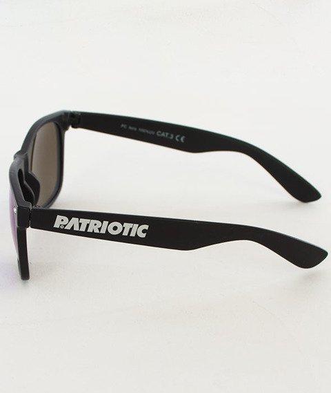 Patriotic-Futura Okulary Classic Mat (Black/Chameleon)
