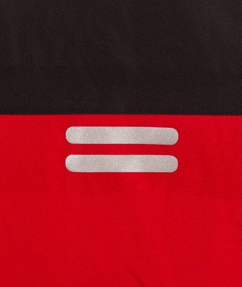 Patriotic-Futura Reflex Parka Kurtka Zimowa Czerwony/Czarny