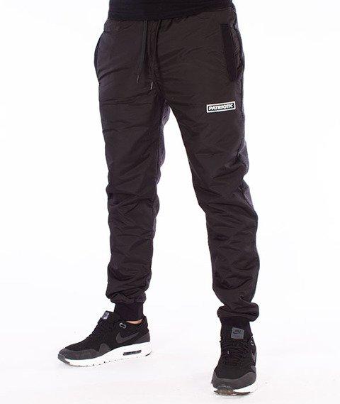Patriotic-Futura Spodnie Dresowe Czarne/Szare