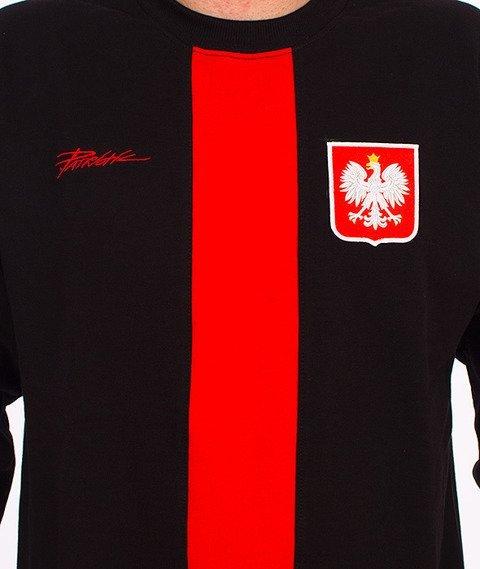 Patriotic-Godło Tag Bluza Czarna