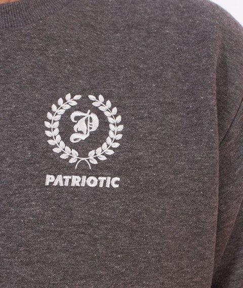 Patriotic-Laur Mini Bluza Szara