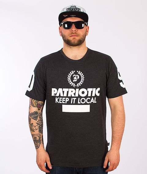 Patriotic-Laur T-Shirt Grafitowy