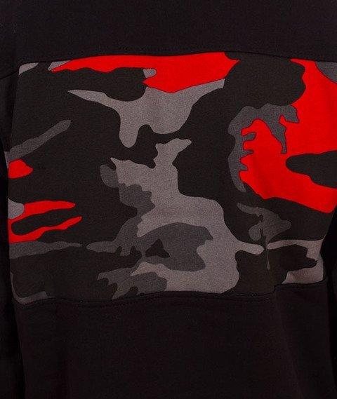 Patriotic-P Laur Mini Bluza Kaptur Czarny/Red Camo