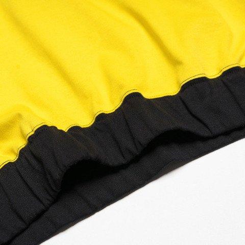 Patriotic PatGirl T-Shirt Damski Żółty/Czarny