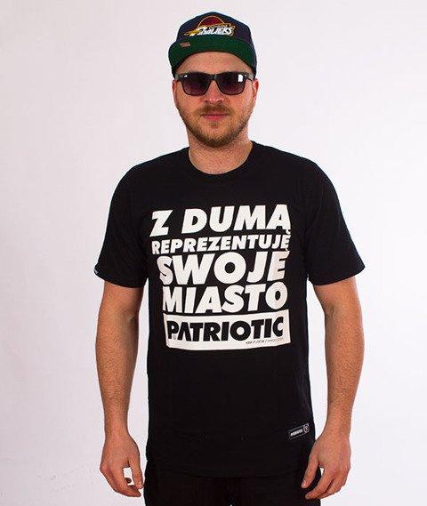Patriotic-Reprezentuję T-shirt Czarny
