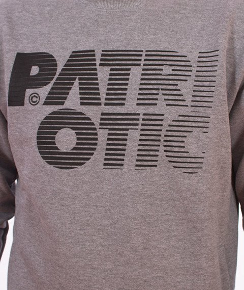 Patriotic-Shade Bluza Szara