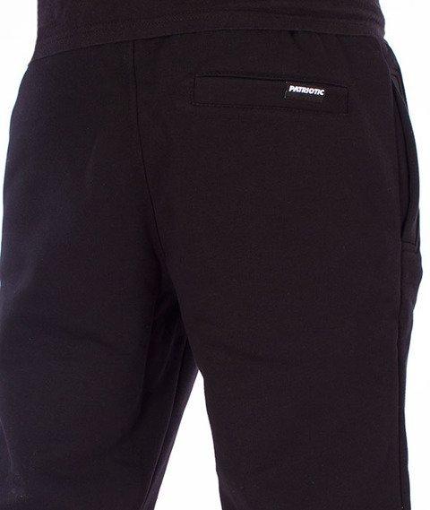 Patriotic-Tag Box Spodnie Dresowe Czarne/Czerwone