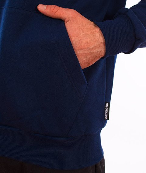 Patriotic-Tag Mini Bluza Kaptur Granat