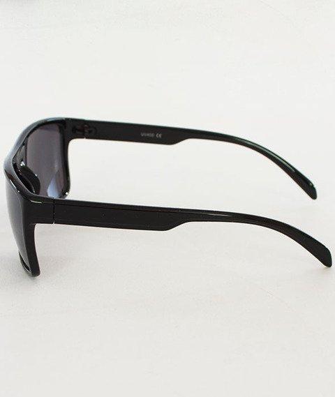 Patriotic-Tag Okulary połysk (Black/Black) + Etui