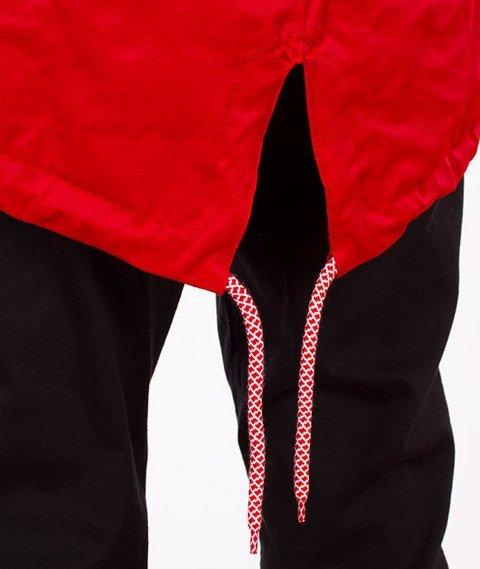 Phenotype-Teamred Fishtail Jacket Red