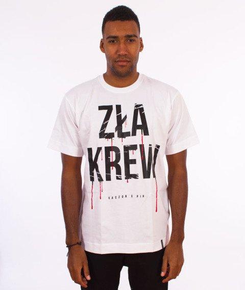 Pihszou-Zła Krew T-shirt Biały