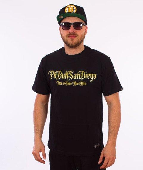 Pit Bull West Coast-Ace Of Spades T-Shirt Czarny