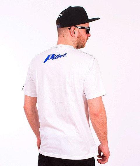 Pit Bull West Coast-Blue Brand T-Shirt White