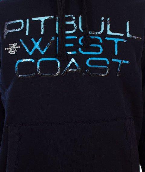 Pit Bull West Coast-Blue Eyed Devil Bluza Kaptur Granatowy