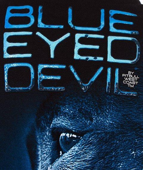 Pit Bull West Coast-Blue Eyed Devil Crewneck Bluza Czarna